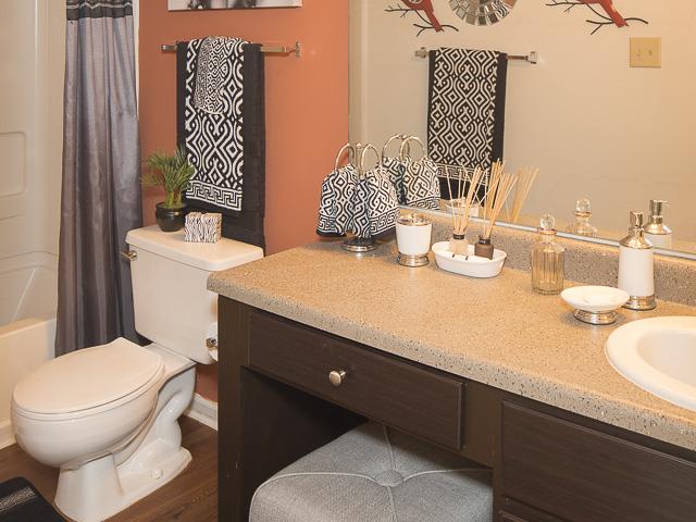 Bathroom | Landmark at Battleground Park Apartment Homes Greensboro, NC
