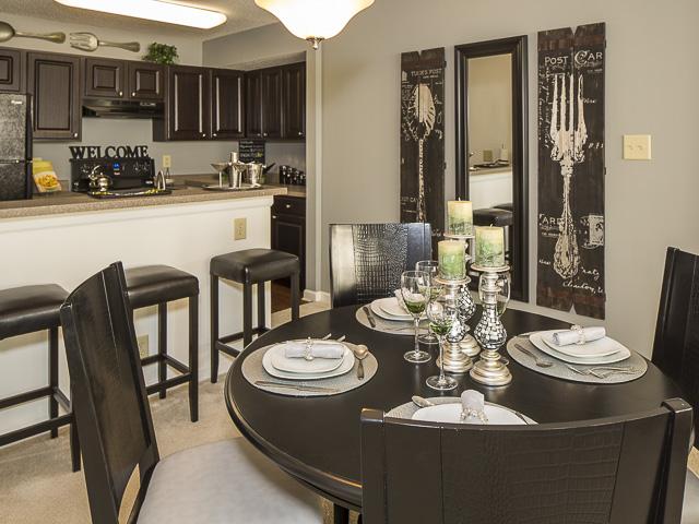 Dining Room | Landmark at Battleground Park Apartment Homes Greensboro, NC