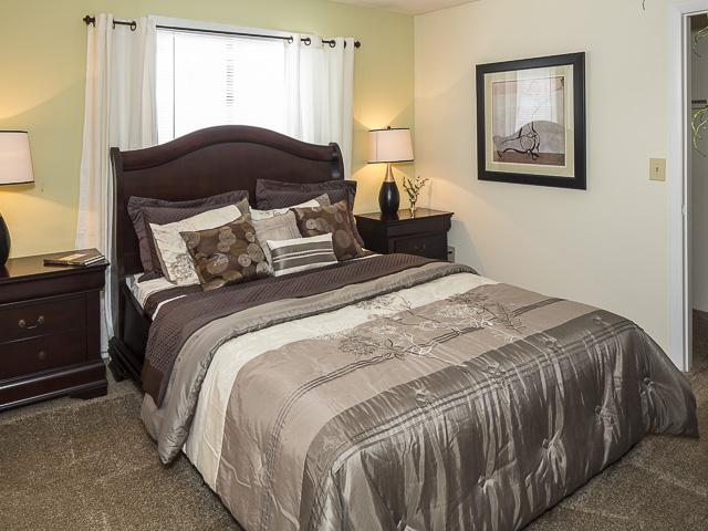 Master Bedroom | Victoria Park Apartment Homes Charlotte, NC