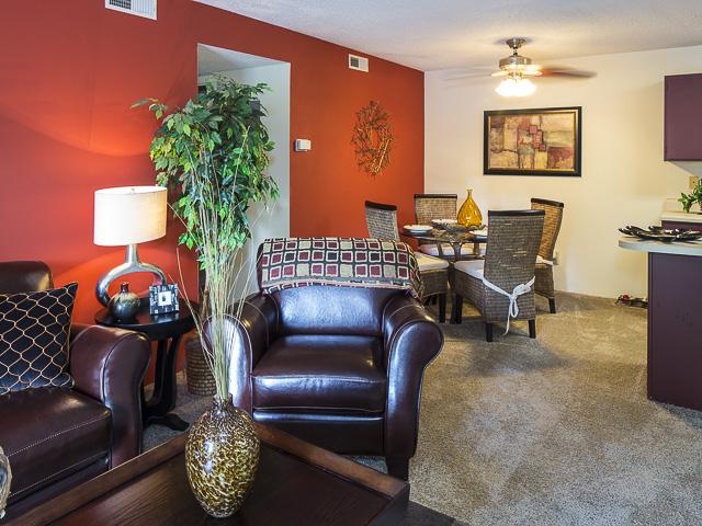 Open Floor Plan | Victoria Park Apartment Homes Charlotte, NC
