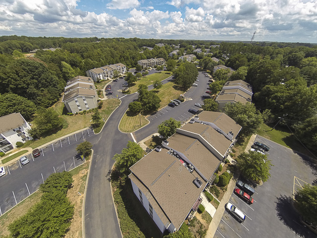 Aerial Image | Victoria Park Apartment Homes Charlotte, NC