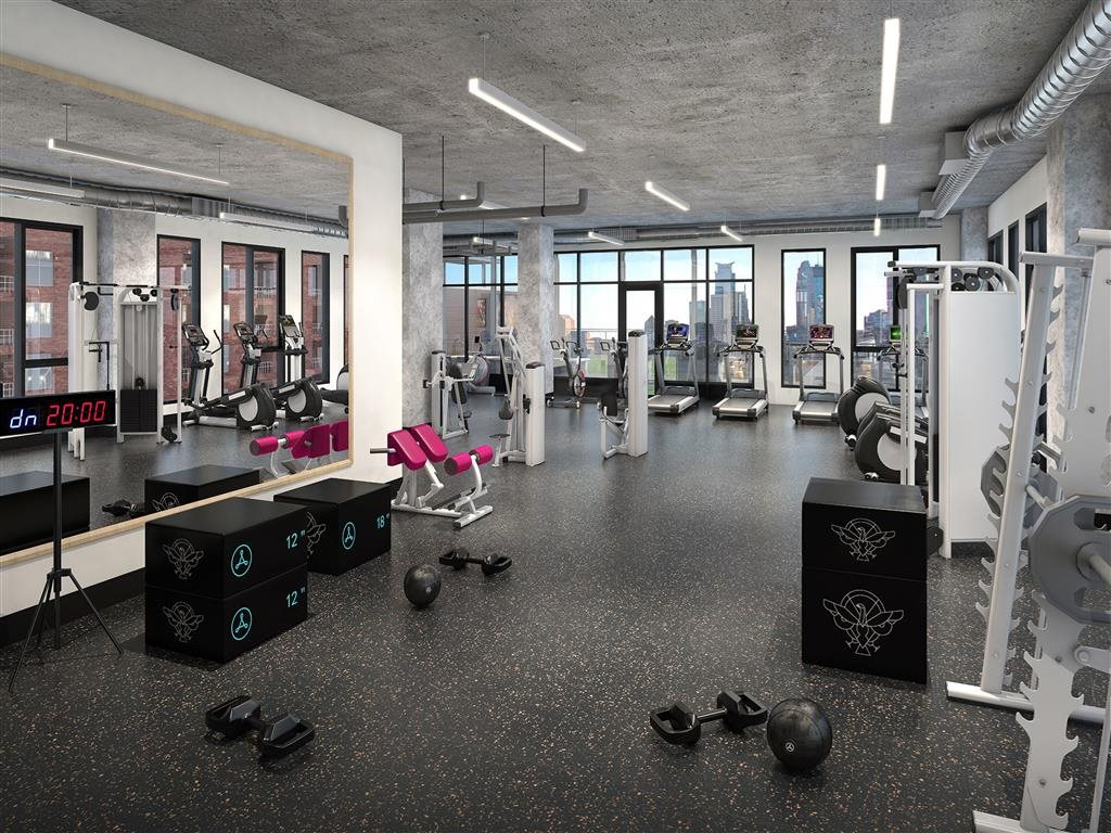 Fitness Center - Rafter Apartments Lifestyle