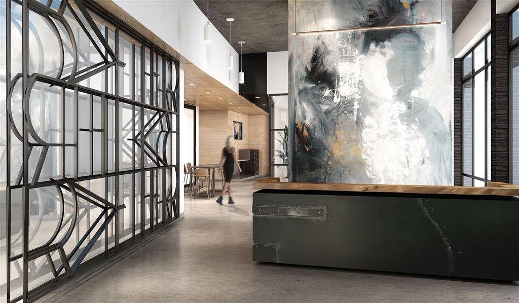 Rafter Apartments Lobby