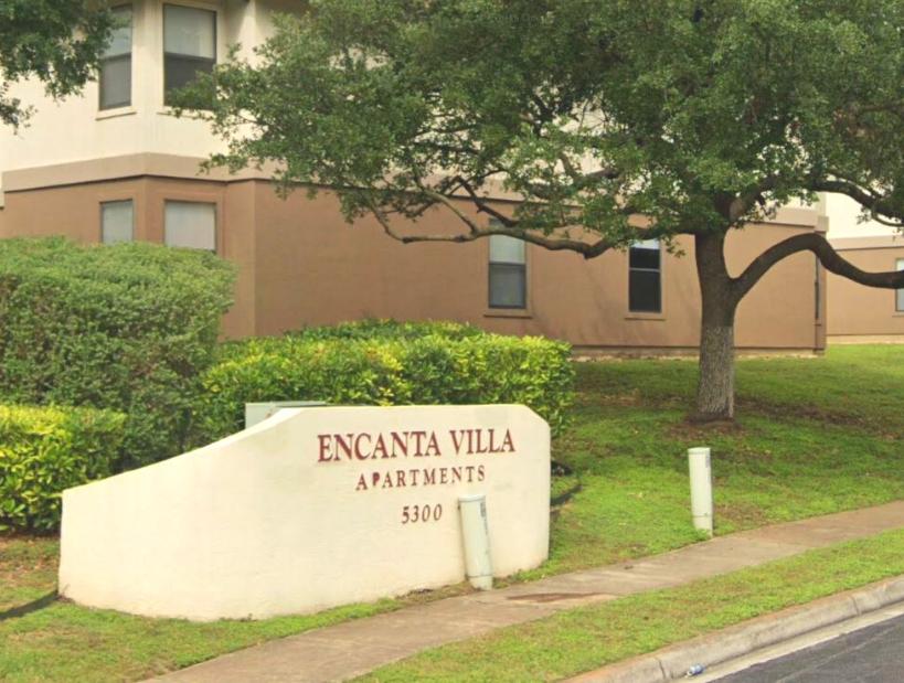 Encanta Villa Property Sign