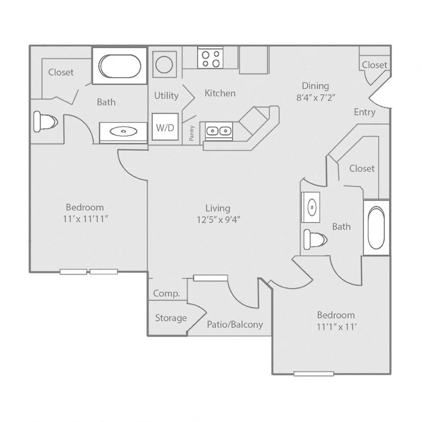 two bedroom san antonio apartments