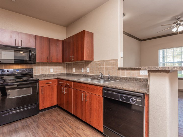 luxury apartments in north san antonio with updated kitchens