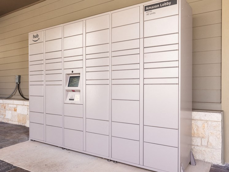 amazon lockers for package receiving in san antonio apartments