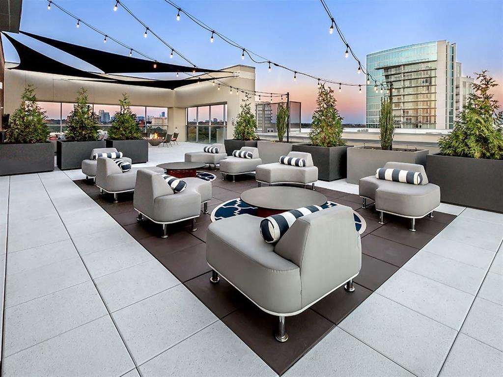 Venue Brookwood rooftop lounge.