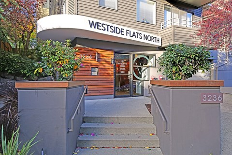 Westside Flats Building Entry