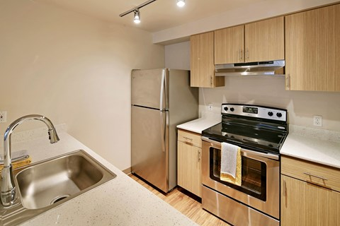 Westside Flats Kitchen Stainless Steel Applinaces