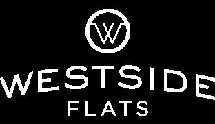 White Westside Flats Logo