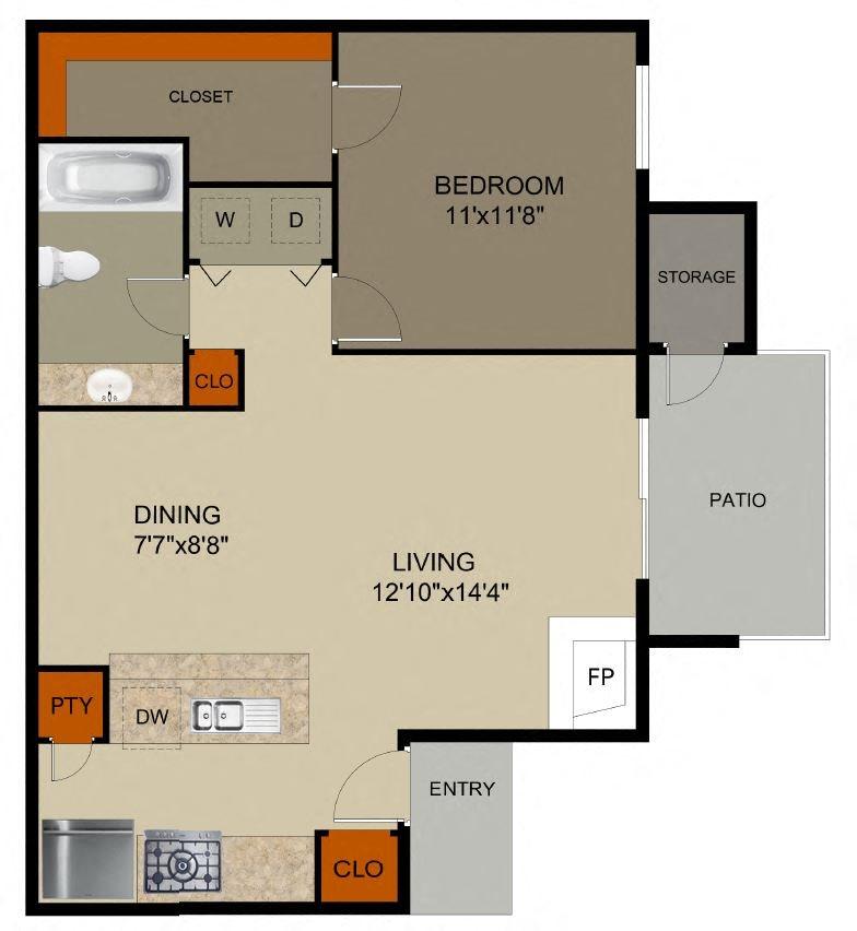 Apartments Mesquite Tx: Floor Plans Of Pine Oaks Apartments In Mesquite, TX