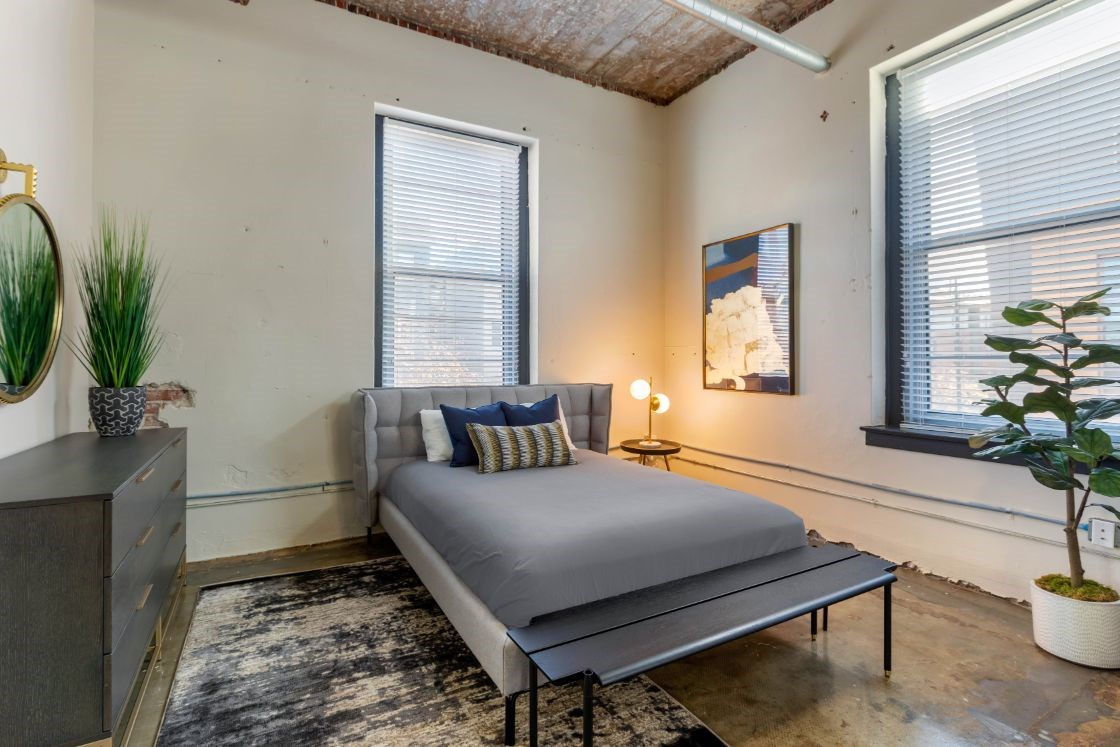 The Indi at Uptown Square Apartments |Bedroom