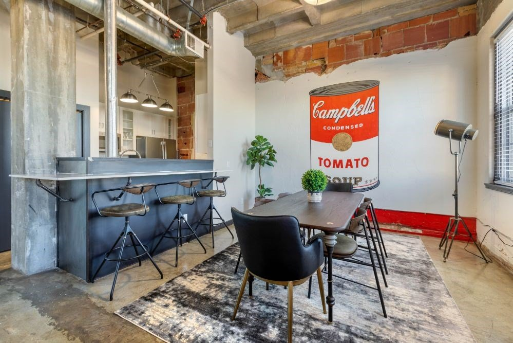 The Indi at Uptown Square Apartments |Dining Room and Breakfast Bar