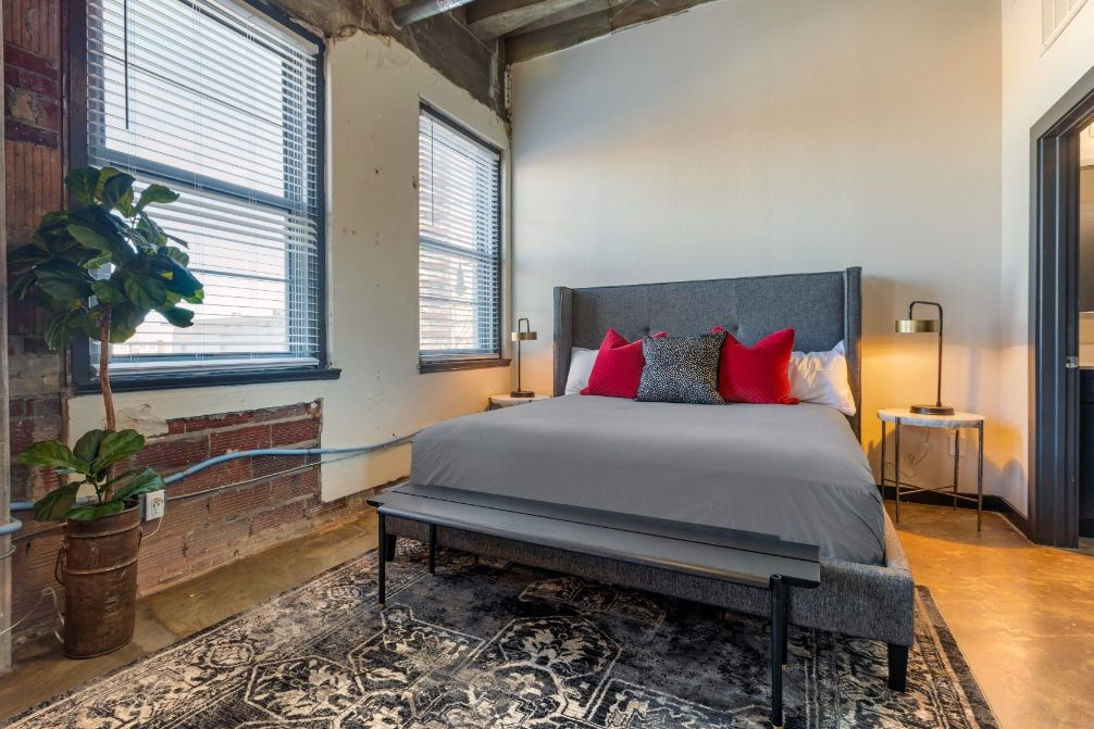 The Indi at Uptown Square Apartments |Spacious Bedroom