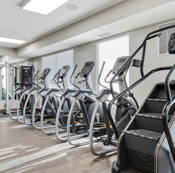 lakeside of oakbrook cardio room