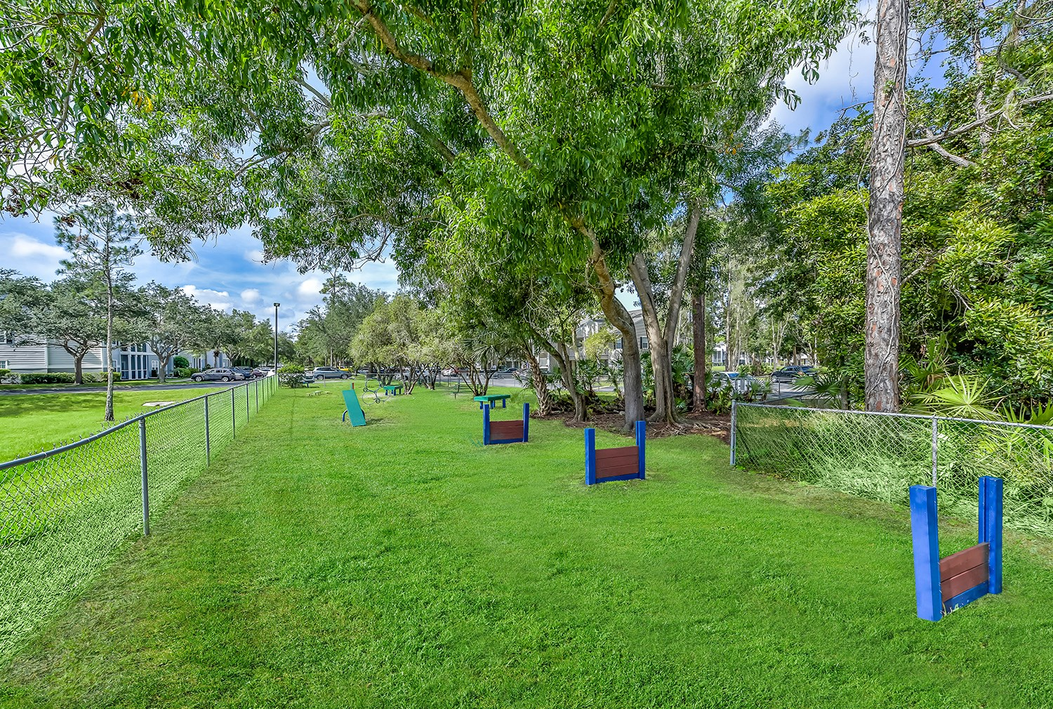 Dog Park at Brantley Pines Apartments in Ft. Myers, FL