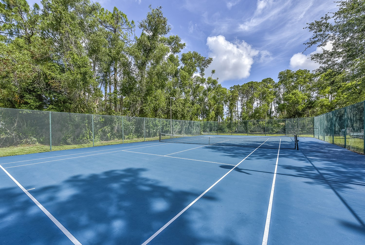 Tennis Court at Brantley Pines Apartments in Ft. Myers, FL