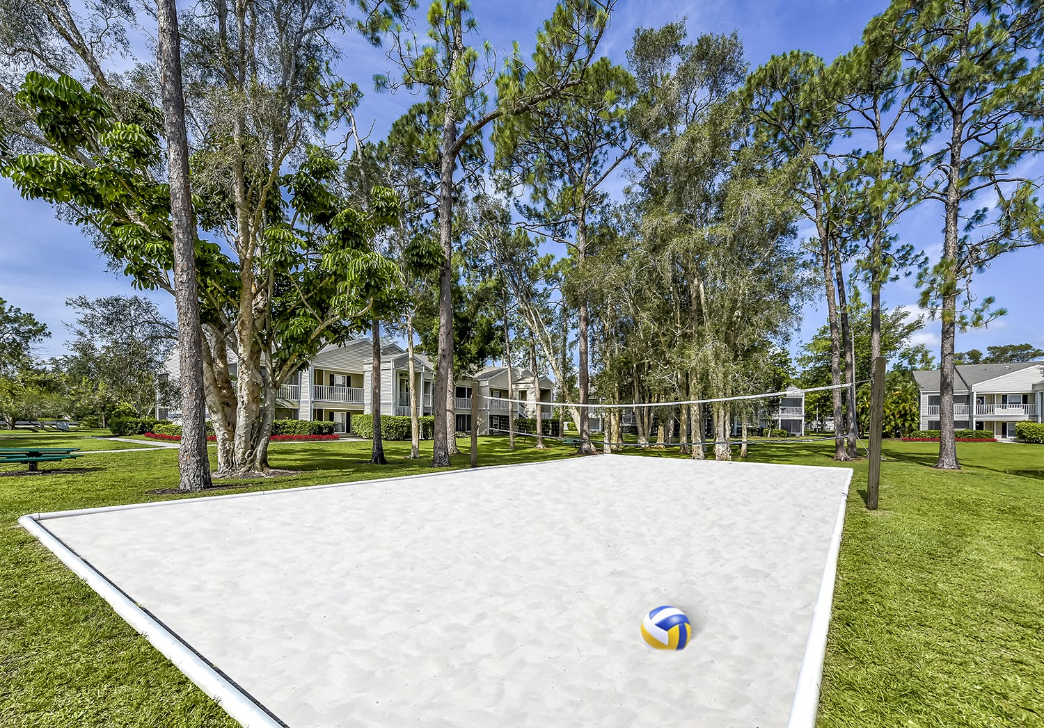 Volleyball Court at Brantley Pines Apartments in Ft. Myers, FL
