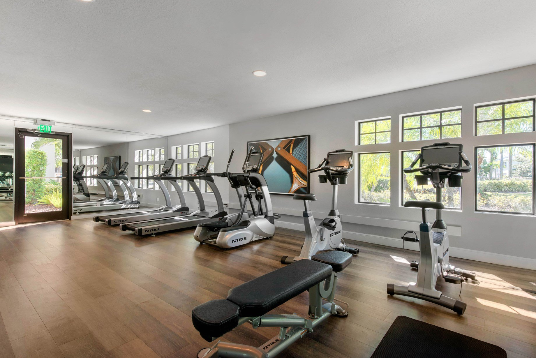 Fitness Center at Brantley Pines Apartments in Ft. Myers, FL