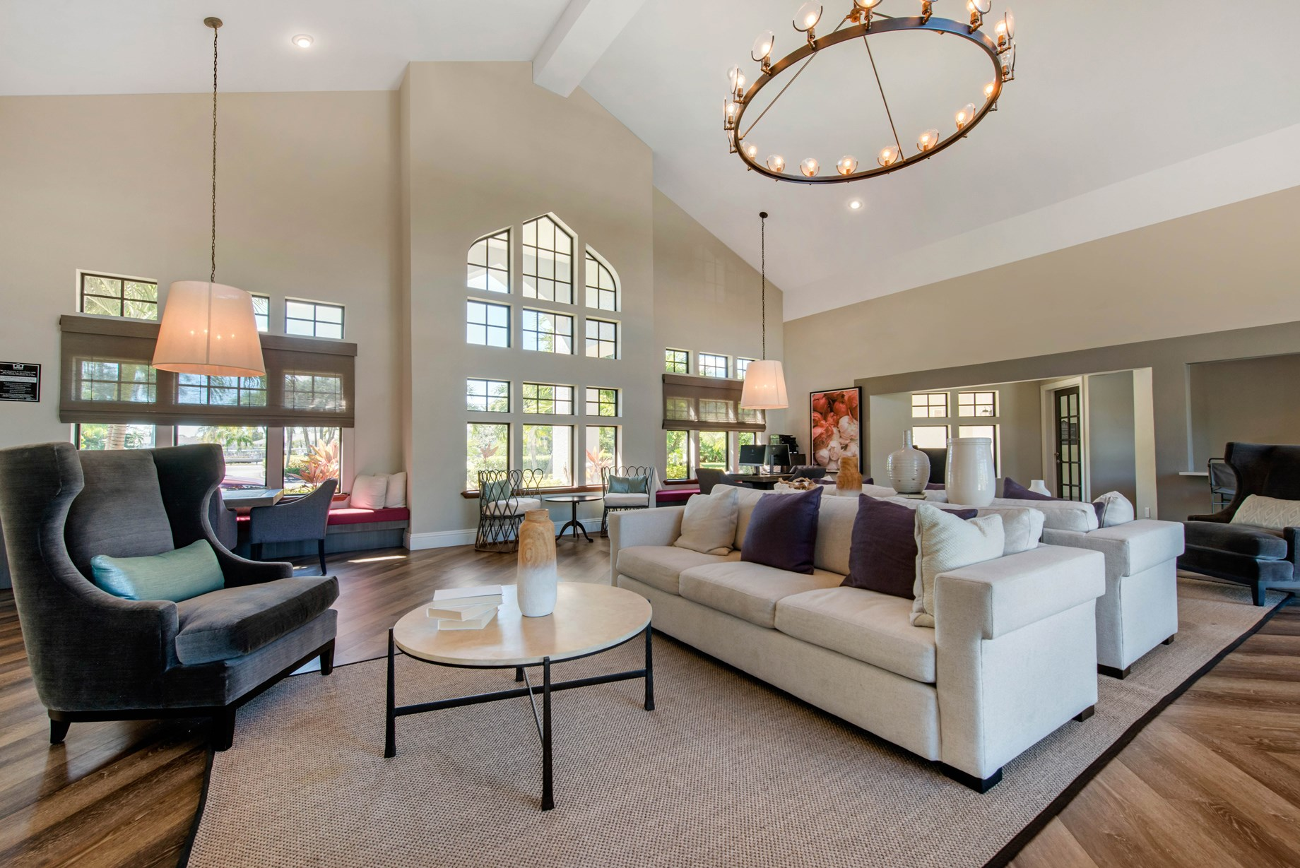 Clubhouse at Brantley Pines Apartments in Ft. Myers, FL