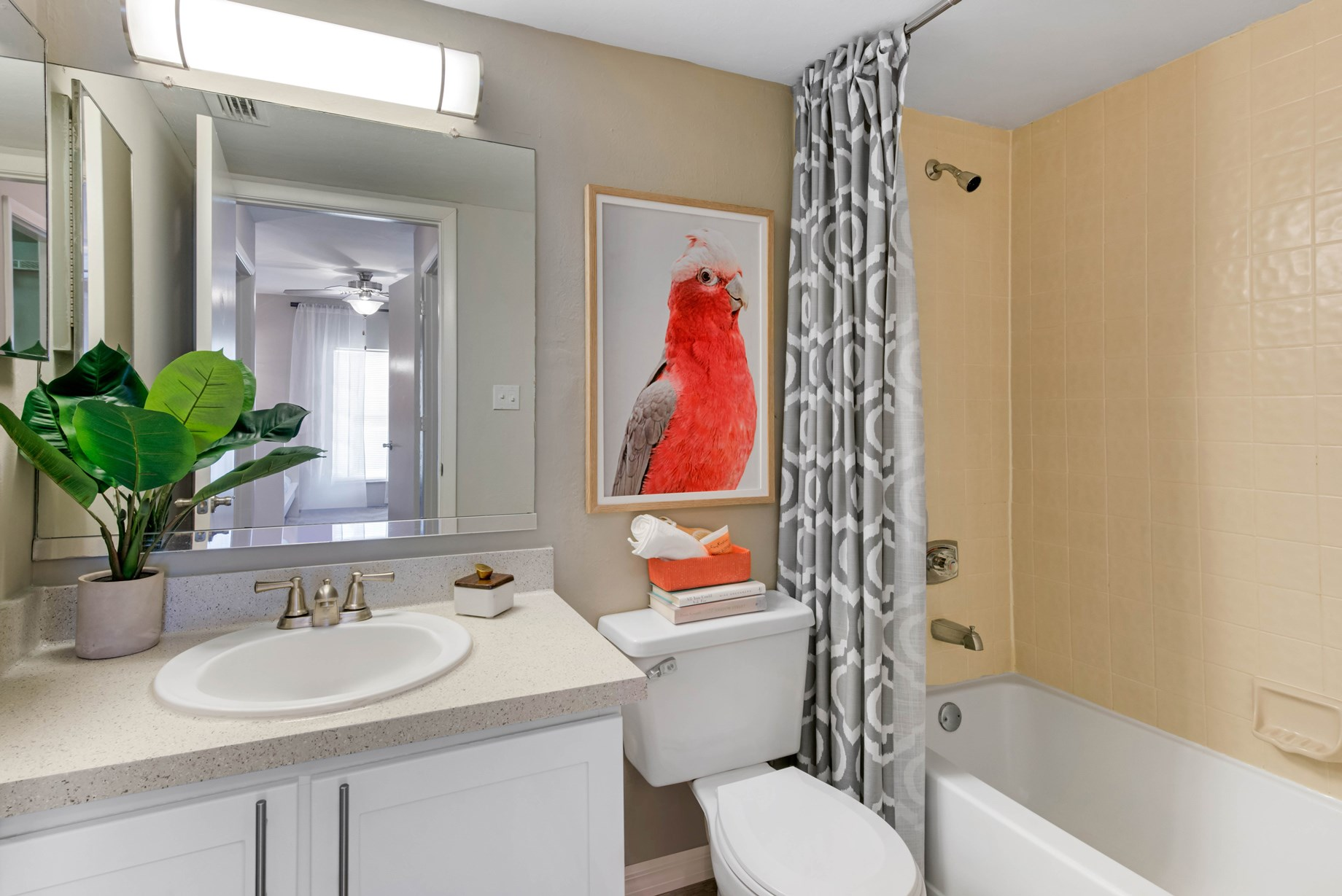 Bathroom at Brantley Pines Apartments in Ft. Myers, FL