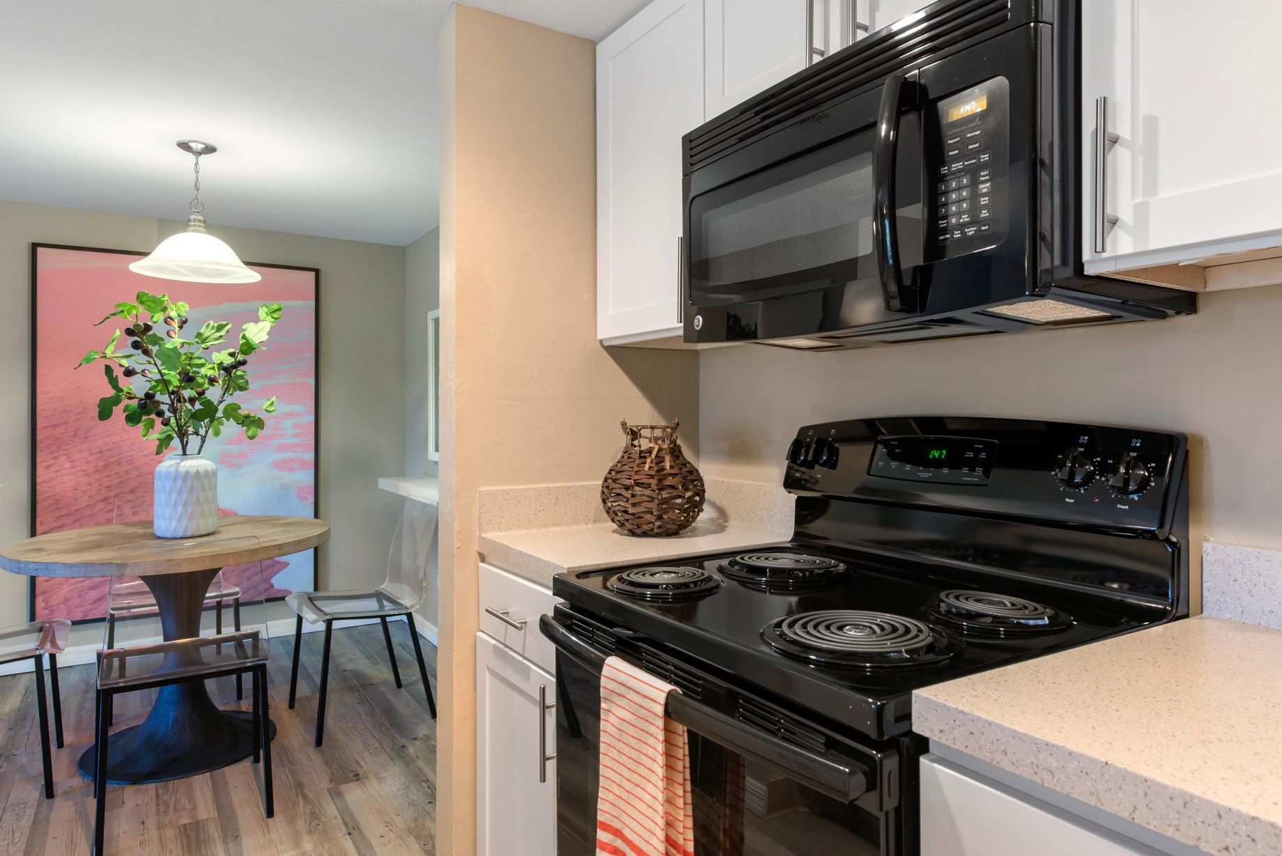 Kitchen at Brantley Pines Apartments in Ft. Myers, FL