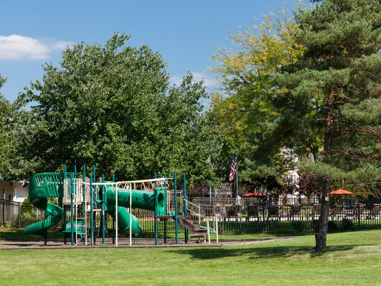playground on site at Ardsley Ridge Apartments in Reynoldsburg, OH