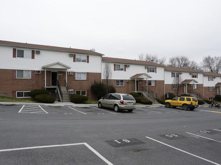 Off Street Parking at Morgan Apartments, Winchester, VA, 22601