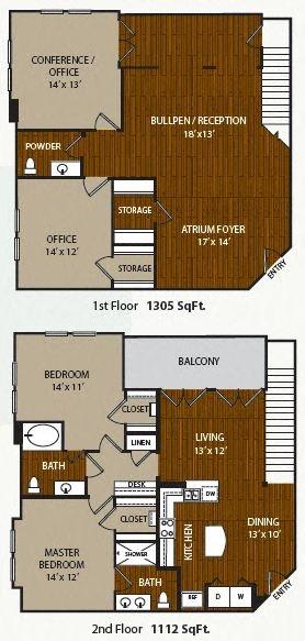 B2LW Floor Plan 7