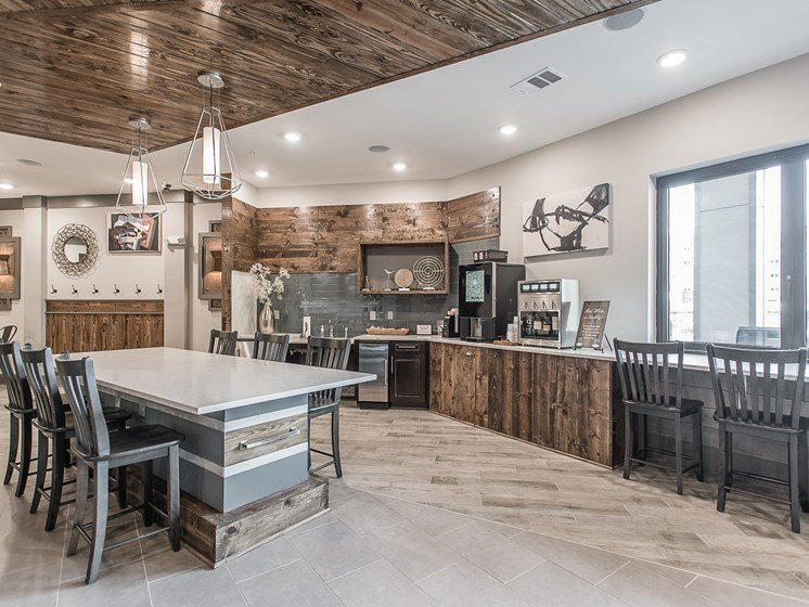 Community Kitchen at Vintage at The Avenue Apartments in Murfeesboro, Tennessee