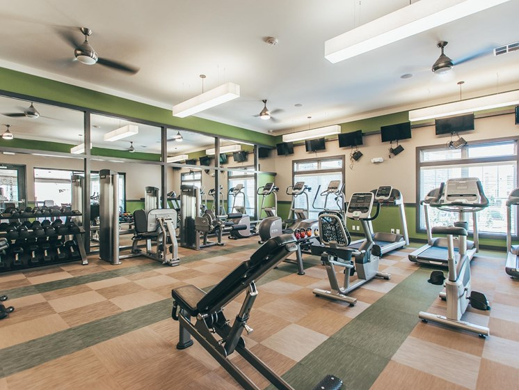 Fitness Center at Vintage Blackman Apartments in Murfeesboro, Tennessee