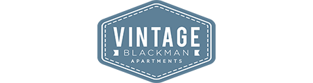 Logo Design for Vintage Blackman Apartments in Murfeesboro, Tennessee