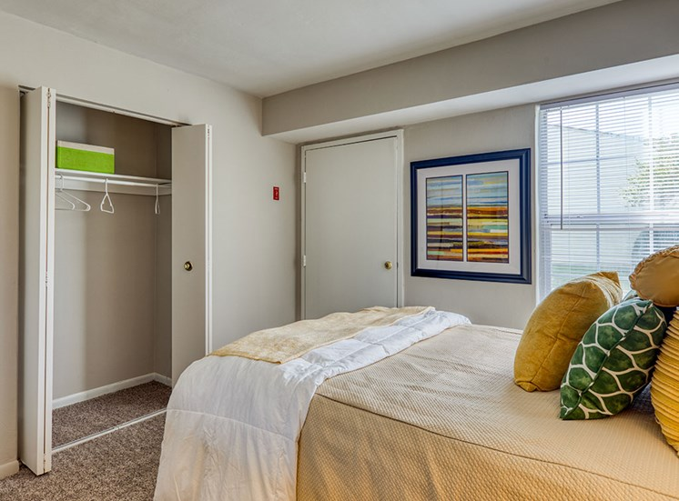 Bedroom 2 at affordable apartments in Virginia Beach