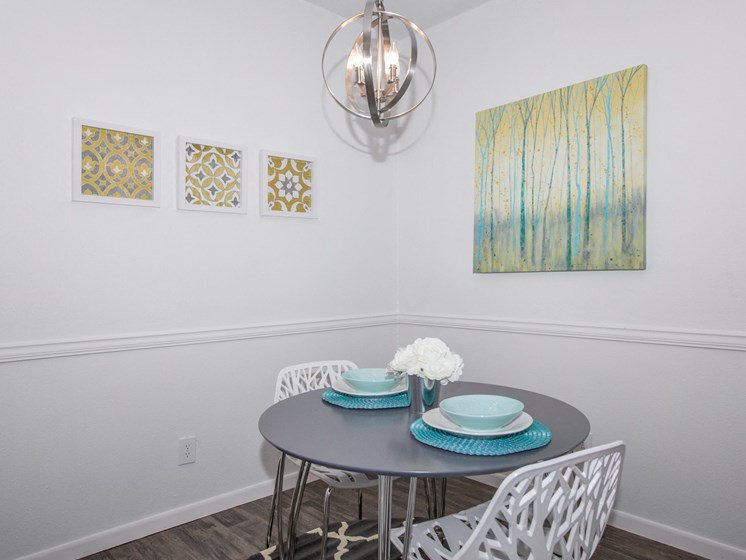 Specious Dining Area at The Quinn at Westchase, Houston, TX, 77077