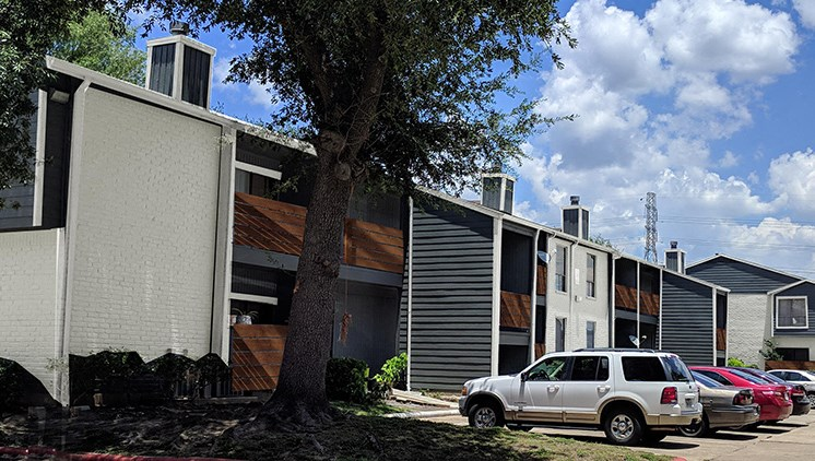 Parking at The Quinn at Westchase Apartments in Houston, Texas