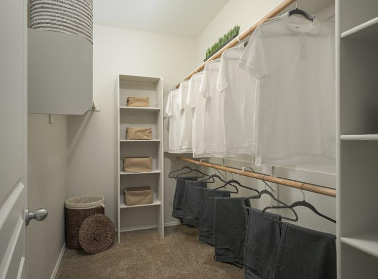show room closet