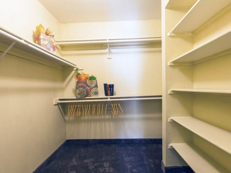 Walk-In Closet (Non-Renovated Apartment) at Presidio North Apartments in Phoenix, AZ