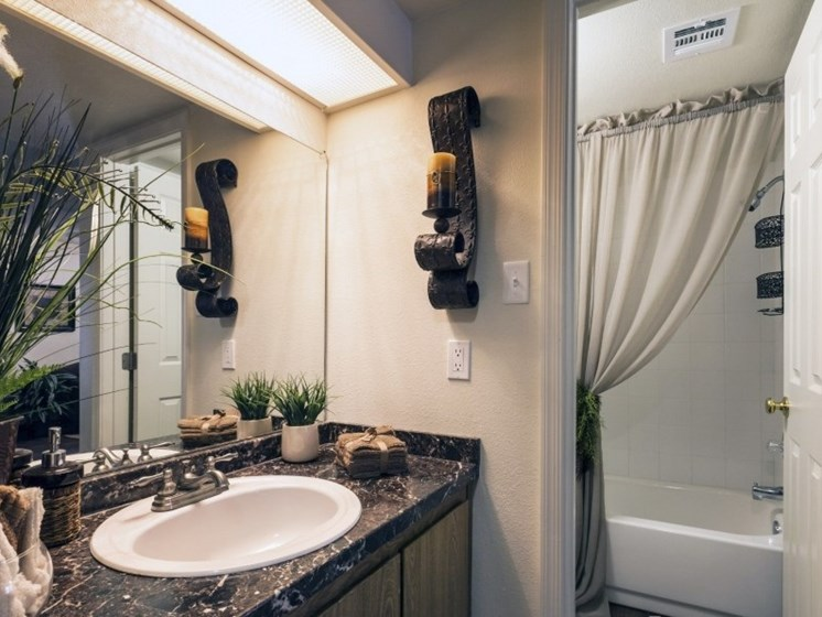 Bathroom Vanity at Presidio North Apartments in Phoenix, AZ