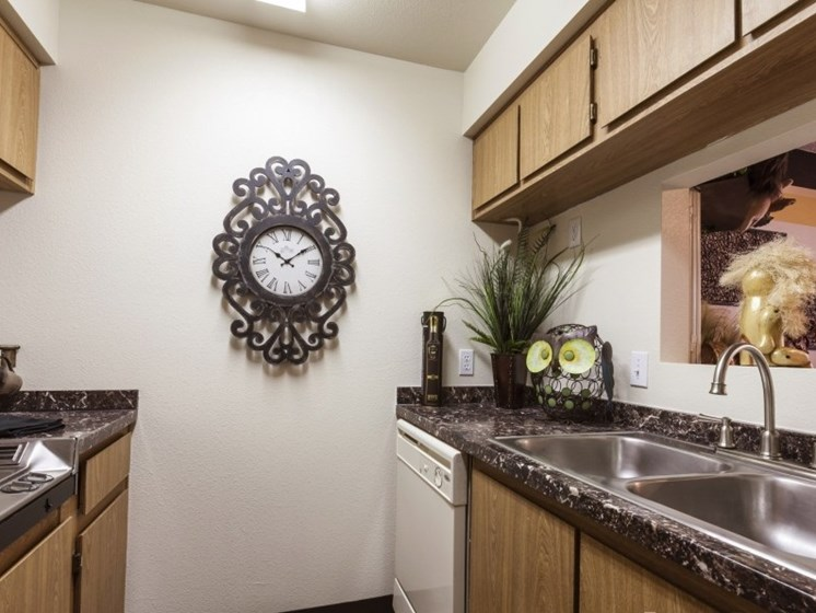 kitchen at Presidio North Apartments in Phoenix, AZ