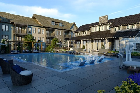 Resort-Style Pool at Retreat at Ironhorse, Tennessee, 37069