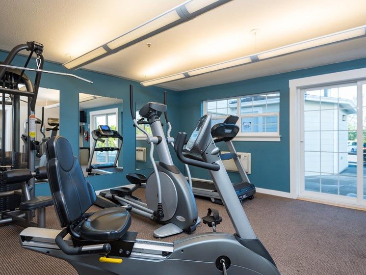 Chinook Way Apartments | Two Bedroom Aspen | Fitness Center