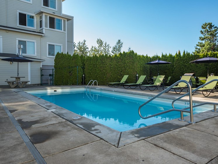 Chinook Way Apartments | Two Bedroom Aspen | Seasonal Pool