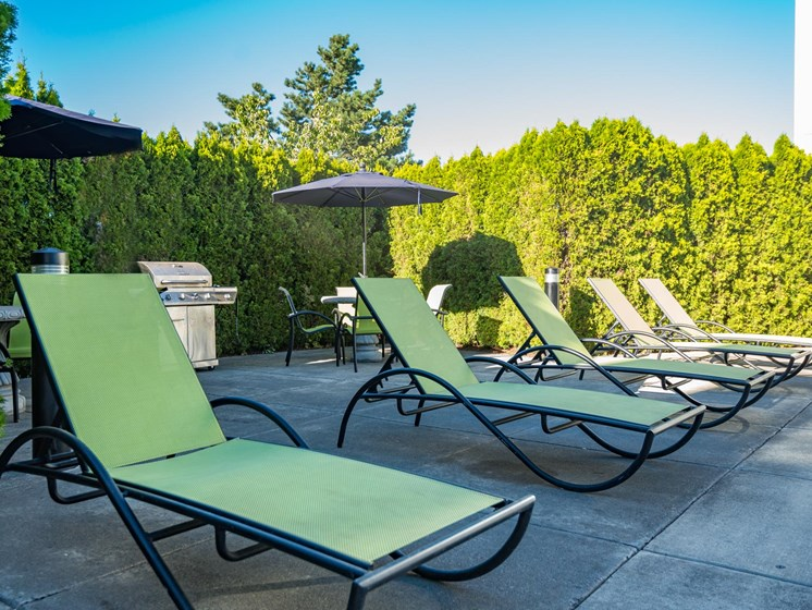 Chinook Way Apartments | Two Bedroom Aspen | Sundeck