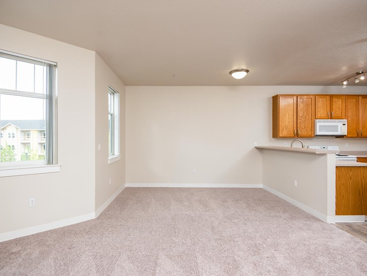Chinook Way Apartments | Two Bedroom Aspen | Dining Room