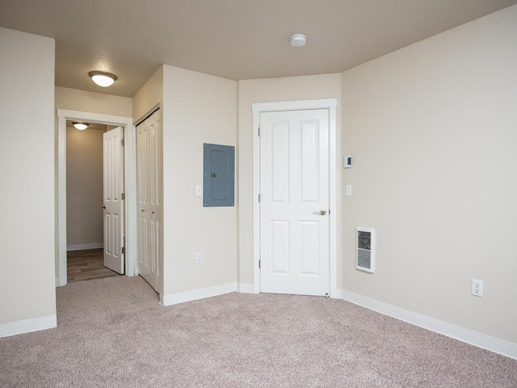 Chinook Way Apartments | Two Bedroom Aspen | Bedroom