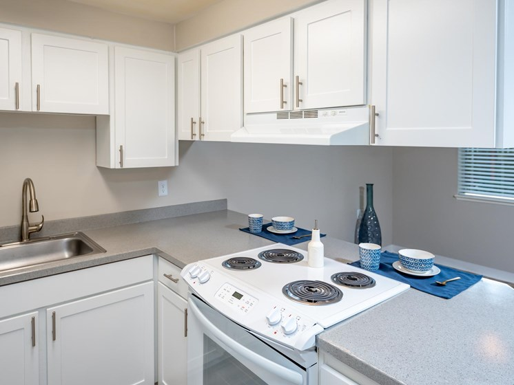 Coho Run Apartments | Two Bedroom | Kitchen
