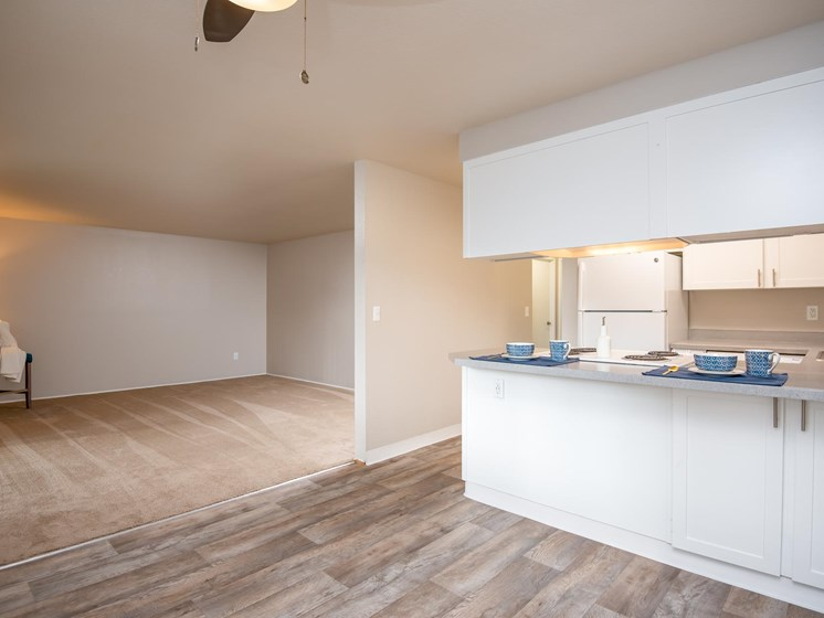 Coho Run Apartments | Two Bedroom | Dining Room
