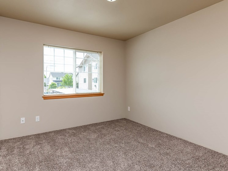 Large bedroom with window