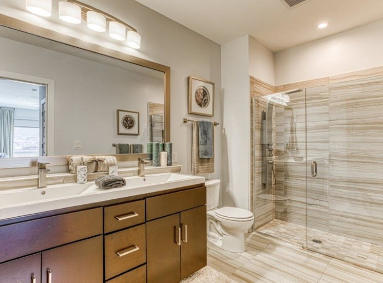 Designer Bathroom Suites at Carroll at Bellemeade, North Carolina